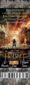 hobbit-battle-of-the-five-armies-ticket-invitation